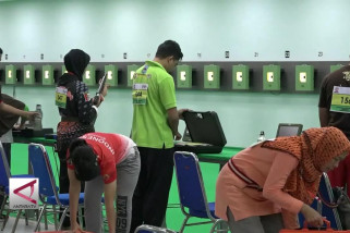 322 Atlet nembak ikuti tes event Asian Games