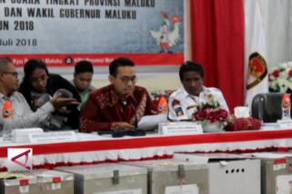 Rekapitulasi KPUD Maluku, Murad–Barnabas unggul