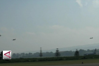 4 Pesawat Super Tucano Kawal Obor Asian Games