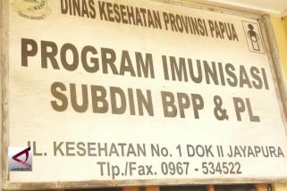 Dinkes Papua Distribusikan Ribuan Vaksin Campak Rubella
