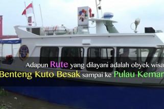 5 Bus air bantuan Kemenhub arungi Sungai Musi