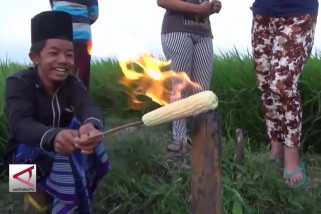 Sejumlah sumur warga di Ngawi keluarkan gas metan