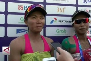 Desi dan Eka buka kemenangan awal voli pantai