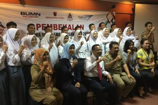 BUMN Hadir - Sekda Lepas Keberangkatan Peserta SMN Banten