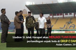 JK tinjau Stadion Si Jalak Harupat