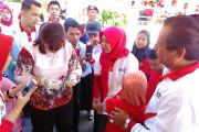 Gubernur Sulteng Canangkan Kampanye Imunisasi Campak Rubella