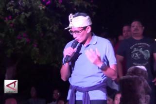 Sandiaga Uno mengaku naif atas pengakuan Erick Thohir
