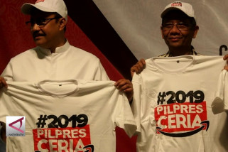 "Sejumlah tokoh deklarasikan gerakan ""2019 Pilpres Ceria"""