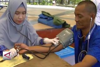 Jurnalis Kendari galang 200 kantong darah