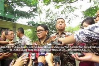 Bertemu Wan Azizah, Jokowi titip WNI di Malaysia