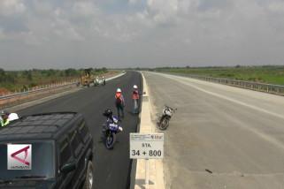 Ruas Tol Kapal Betung mulai tersambung 42 Km