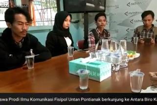 Media Visit ke Perum LKBN ANTARA