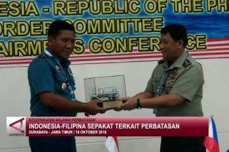 Indonesia-Filipina kesepakatan terkait perbatasan
