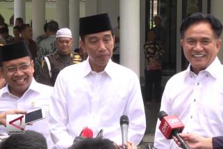 Yusril temui Presiden Jokowi di Istana Bogor