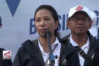 Menteri Rini resmikan ekspedisi Tol Trans Jawa