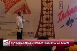 Menhub klaim keberhasilan Pemerintahan Jokowi-JK