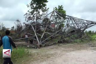 PLN upayakan atasi tower roboh di Palangka Raya
