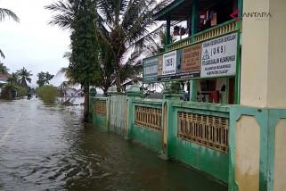 Video - Banjir menggenangi sejumlah desa di Cilacap