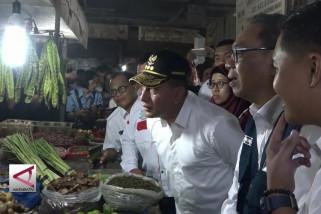 Kemendag RI  sidak ke  Pasar Medan