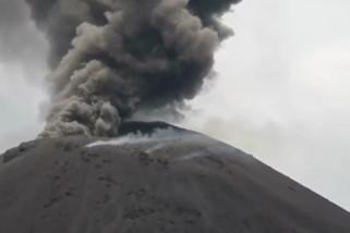 Status Anak Krakatau Siaga