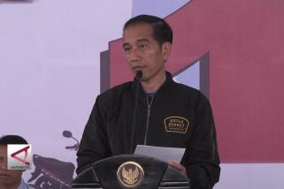Presiden lepas ekspor 1,5 juta unit motor yamaha