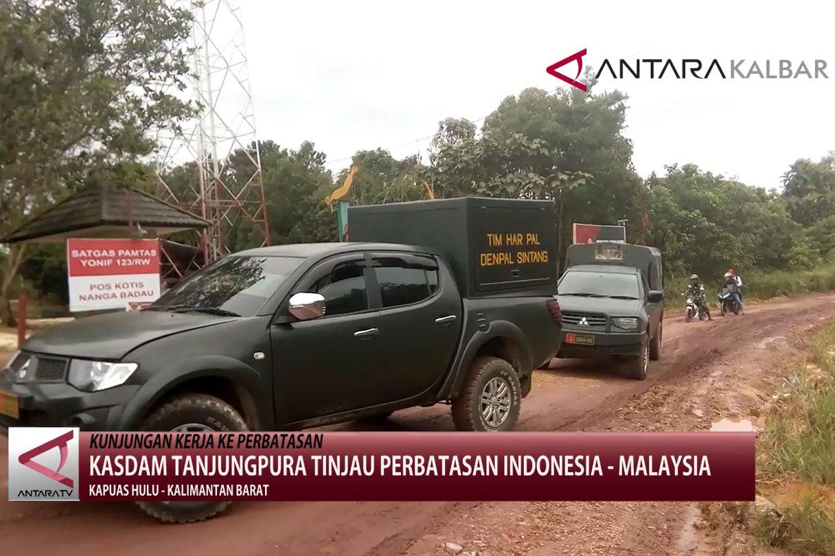 Tinjau Perbatasan Indonesia - Malaysia