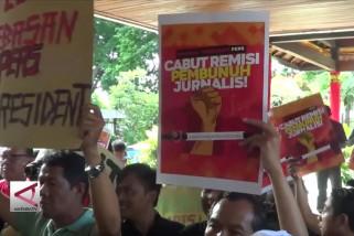 Jurnalis protes remisi napi pembunuh wartawan