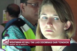 Wisatawan ke Bali tak lagi didominasi dari Tiongkok