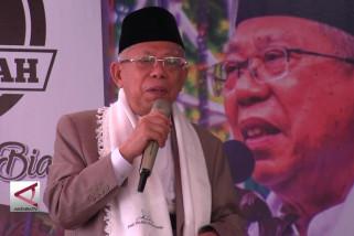 Ma'ruf Amin kenalkan arus baru ekonomi Indonesia