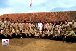 Jokowi apresiasi Tagana masuk sekolah