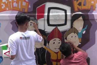 KPU tingkatkan partisipasi pemilih dengan mural