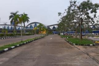 Pesawat Lion Air mulai dievakuasi di Supadio