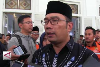 Ridwan Kamil dicurhati korban bencana