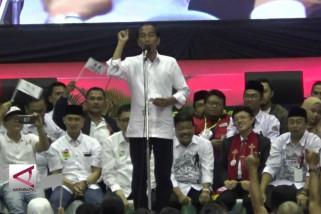 Jokowi sebut Indonesia butuh nahkoda berpengalaman
