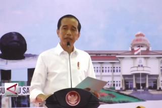 Presiden bagikan 2.081 Sertifikat tanah warga Babel