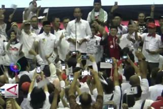 Jokowi ajak datang ke TPS dengan pakaian putih