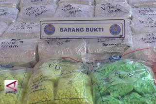 BNN Kalbar sita narkotika asal Malaysia