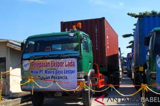 ANTARA TV - Pemprov Babel lepas 15 ton lada ke Perancis