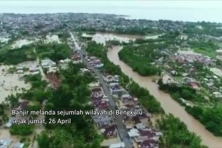 13 ribu jiwa terdampak banjir Bengkulu