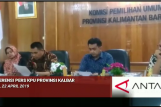 Video - Konferensi Pers KPU Kalbar
