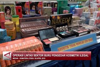 Operasi lintas sektor buru pengedar kosmetik ilegal