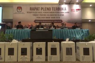 KPU Kalsel gelar Rapat Pleno Rekapitulasi Hasil Perhitungan Suara