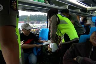 Waspadai mobilisasi massa, Polres Madiun razia bus