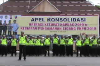 Apel konsolidasi  pengamanan sidang PHPU di Kalbar