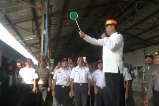 Walikota Madiun berangkatkan kereta Mantab
