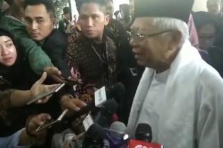 Ma'ruf Amin melayat Ani Yudhoyono
