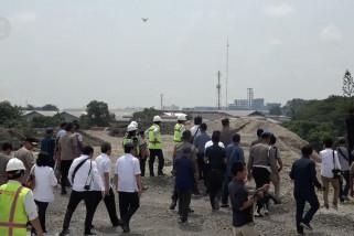 Pembebasan lahan proyek Jalan Tol  Medan-Binjai  tinggal 20 persen