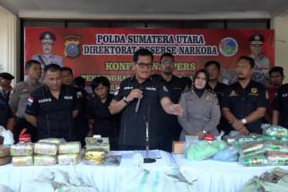 Ratusan kilogram narkoba digagalkan selama bulan Ramadhan