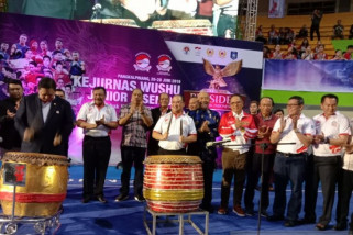Antara TV - Kejurnas Wushu tingkat junior dan senior di Babel