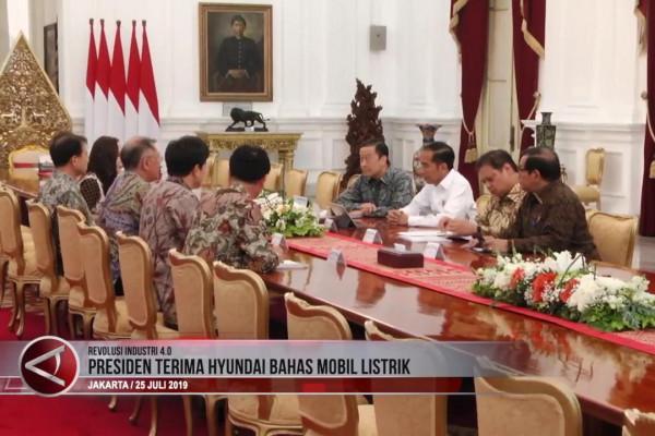 Bertemu Hyundai, Menperin Dampingi Presiden Bahas Investasi di Indonesia